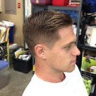 Regular haircut for men
