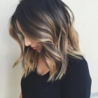 Shoulder length hair color