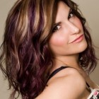 Shoulder length hairstyles and color