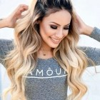 Simple hairstyles for long thick hair