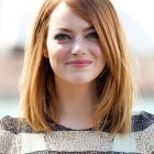 Straight hair shoulder length haircuts