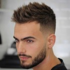 Styled mens haircuts