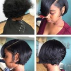 Styles for short black hair