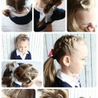 Ten easy hairstyles