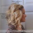 Ways to style shoulder length hair
