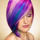 Hair styles and colors