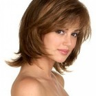 Haircut styles for short to medium hair