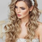 Hairstyle of wedding
