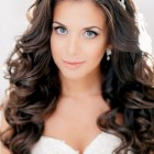 Hairstyles for a wedding with long hair