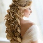 Hairstyles for long hair brides