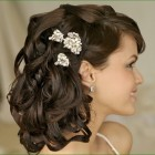 Latest bridal hair style