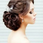 Long hair designs for weddings