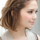 Style hair for short hair