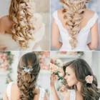 Style of hair for wedding