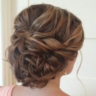 Updo hair for wedding