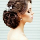 Updo hairstyles for long hair for wedding