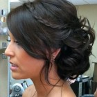 Updo hairstyles wedding bridesmaid