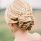 Wedding bride updos