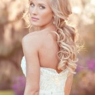 Wedding day hairstyles down