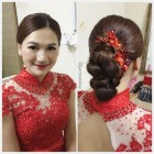 Wedding dinner hairdo