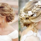 Wedding updos for brides