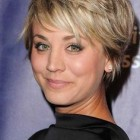 Womans short hair style