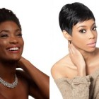 Black short hairstyles 2018