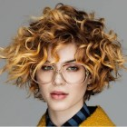 Curly short haircuts 2018