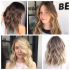 Hairstyle and color for 2018