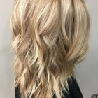 Medium long hairstyles 2018