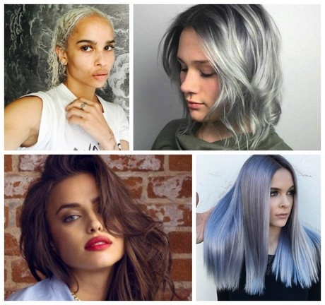 New hair colors 2018