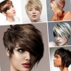Short haircut styles for women 2018