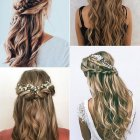 Hairstyle for wedding 2019