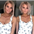 Hairstyle short hair 2019