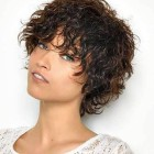 Hairstyles for short curly hair 2019