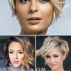 Short hairstyle for 2019