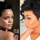Short hairstyles for black hair 2019