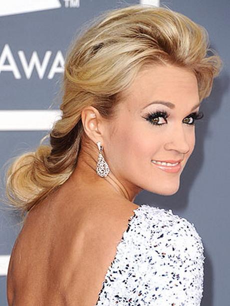 Carrie Underwood Wedding Hairstyles