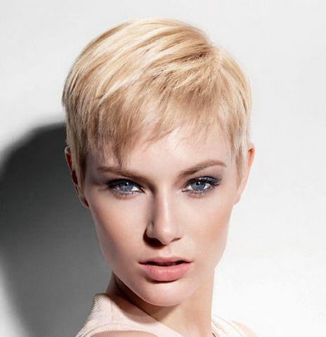 Fine hair pixie cut