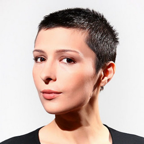 of super short haircuts for women