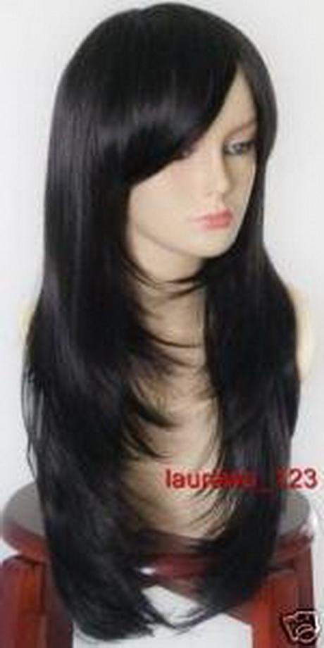 Razor haircuts long hair