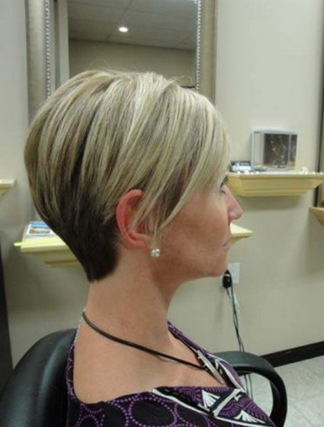 Short Stacked Haircuts For Women