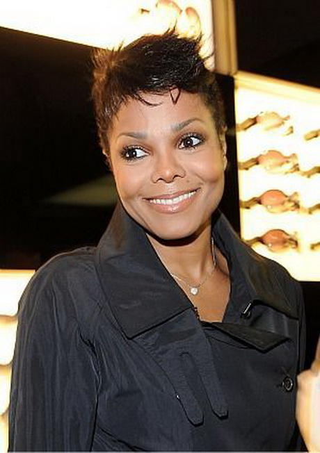 Janet Jackson Short Haircut