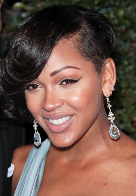 meagan good hair style meagan haircut 7430 | meagan good short haircut 70 8