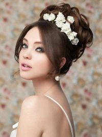 Hairstyle In Wedding Party All Hair Style For Womens