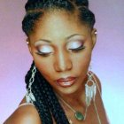 African french braid hairstyles