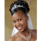 Afro caribbean bridal hairstyles