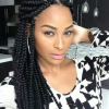 Black braided hairstyles 2015