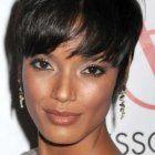 Black hairstyles for oval faces