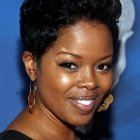 Black short hairstyles with weave